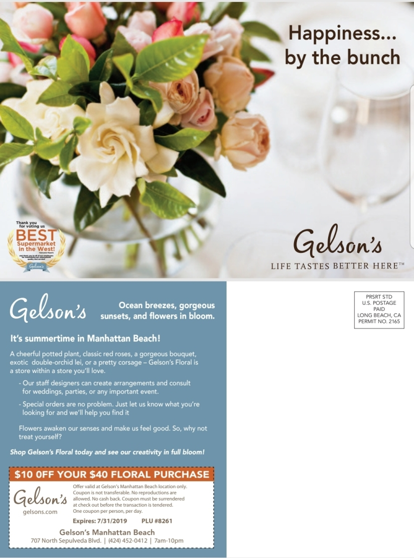 Gelson's Floral Small
